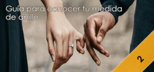 Cómo elegir la medida de tu anillo